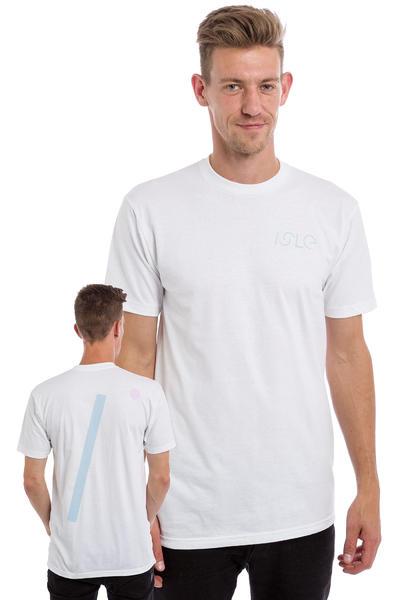 Isle Skateboards I Logo T-Shirt (white)