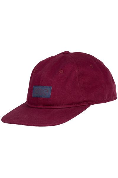 Isle Skateboards 6 Panel Cap (maroon)