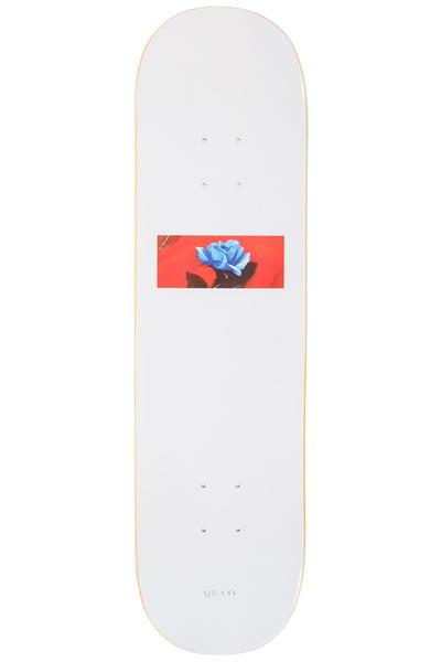 "Quasi Skateboards Blue Rose 8.25"" Tabla (white)"