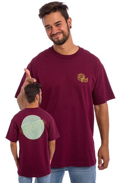 Quasi Skateboards Wired T-Shirt (burgundy)