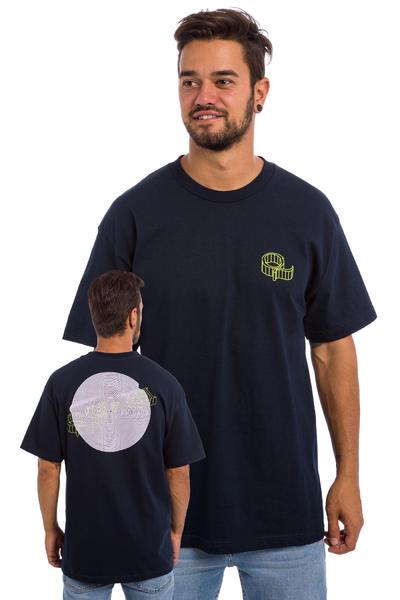 Quasi Skateboards Wired Camiseta (navy)