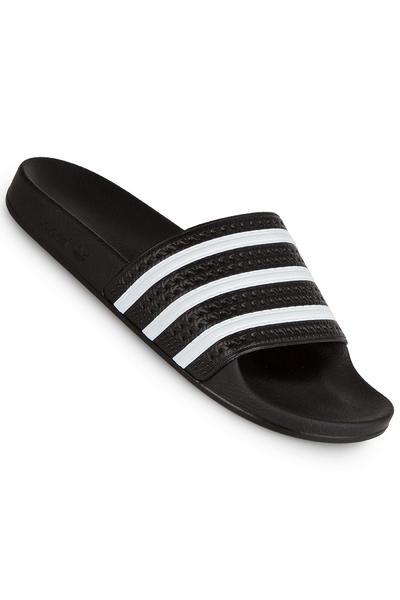 adidas Adilette Sandale (black white black)
