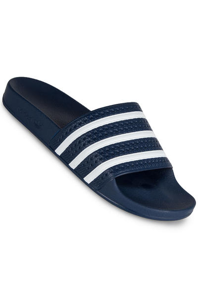 adidas Adilette Sandale (blue white blue)