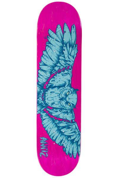"""Antiz Skateboards Fixed Owl 8"""" Planche Skate (blue)"""