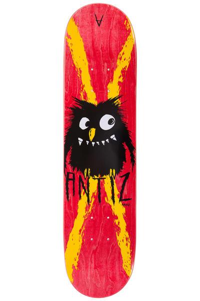 "Antiz Skateboards Kid Owl 7.25"" Deck (red)"