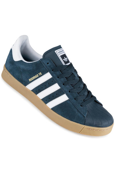 adidas Superstar Vulc ADV Shoe (navy white gum)