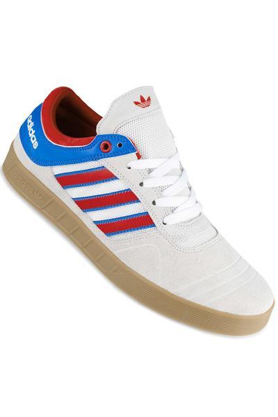 adidas Skateboarding Claremont ADV Shoe (white scarlet blue)