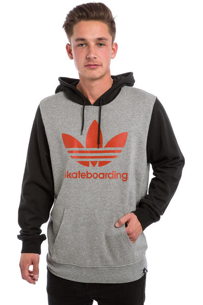 adidas Clima 3 Solid Hoodie (core heather black chili)