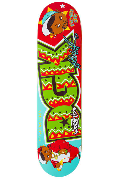 "DGK Skateboards Williams Dee Gee Kids 7.875"" Planche Skate (multi)"