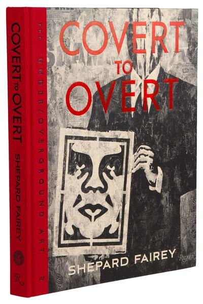 Obey Covert To Overt Buch (assorted)