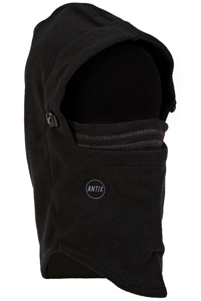 Antix Hood Fleece Neckwarmer (black)