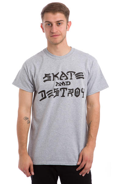 Thrasher Skate & Destroy T-Shirt (grey)