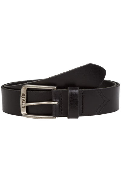 Levi's Classic Top Logo Buckle Gürtel (regular black)