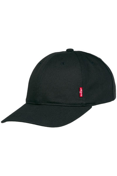 Levi's Classic Twill Red Tab Baseball Casquette (regular black)