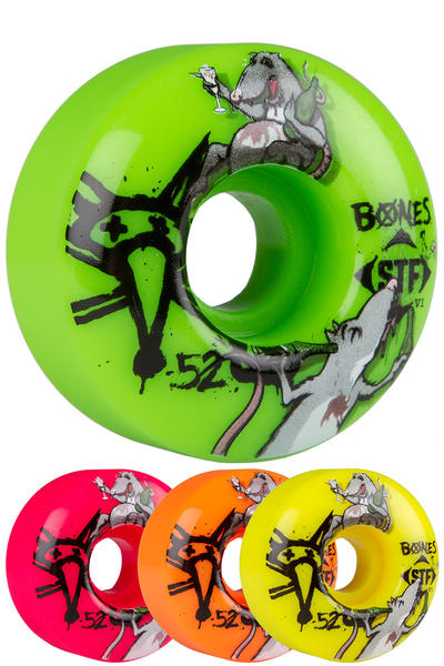 Bones STF Party Pack III 52mm Wheel (multi) 4 Pack