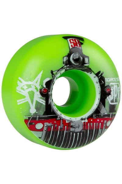 Bones SPF Schroeder Train 58mm Wheel (green) 4 Pack