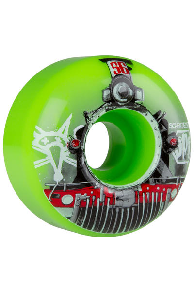 Bones SPF Schroeder Train 56mm Rollen (green) 4er Pack