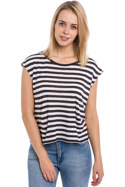 Cheap Monday Run Stripe Top women (off white)