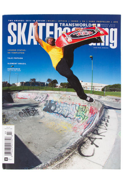 Transworld März 2016 Revista