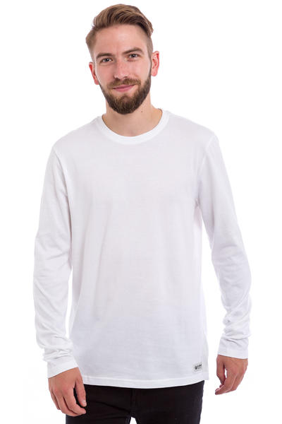 Element Basic Crew Longsleeve (optic white)