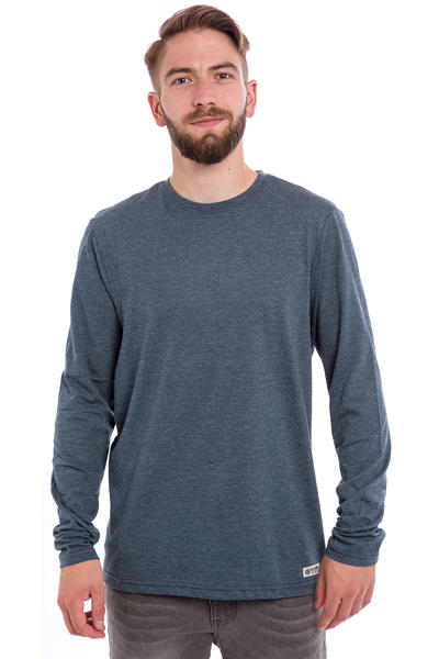 Element Basic Crew Longsleeve (midnight blue heather)