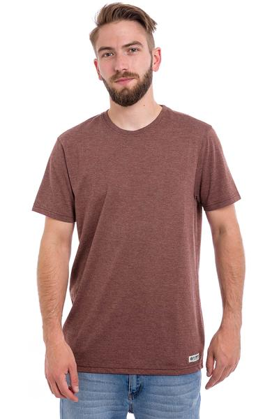 Element Basic Crew T-Shirt (oxblood red heather)