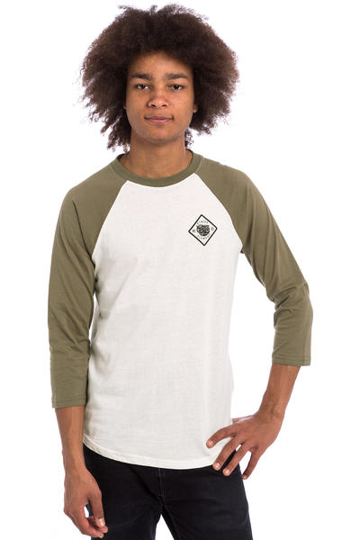 Etnies x Element Hellhound BBall 3/4 Longsleeve (off white)