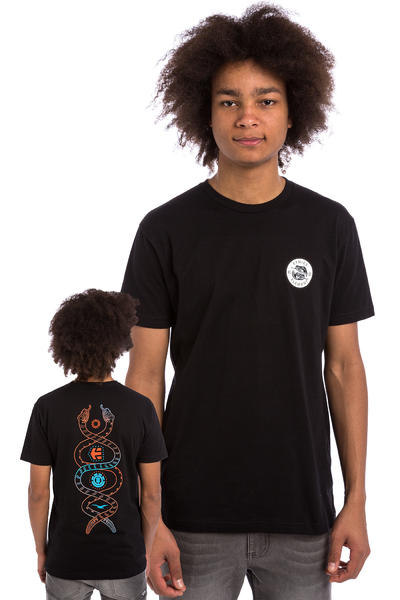 Etnies x Element Vision Serpent T-Shirt (black)
