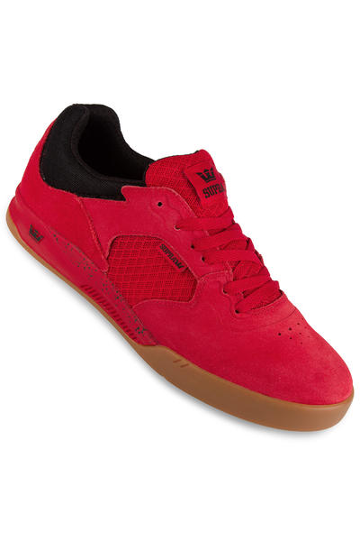 Supra Avex Shoe (red black gum)