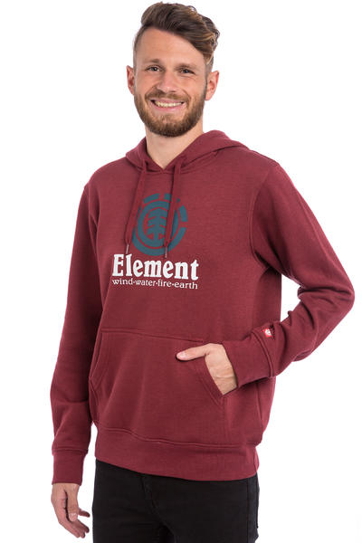 Element Vertical Hoodie (oxblood red)