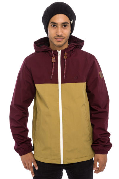 Element Alder Jacket (napa red canyon khaki)
