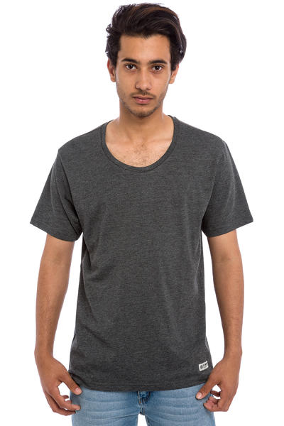 Element Basic Open Neck Crew T-Shirt (charcoal heather)