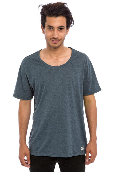 Element Basic Open Neck Crew T-Shirt (midnigt blue heather)
