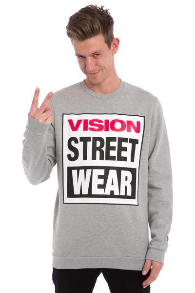 Vision Streetwear Logo Sweatshirt (grey marle)