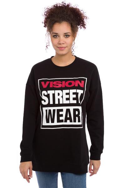 Vision Streetwear Logo Sweatshirt women (black)
