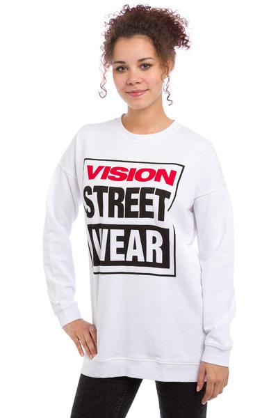 Vision Streetwear Logo Sweatshirt women (white)
