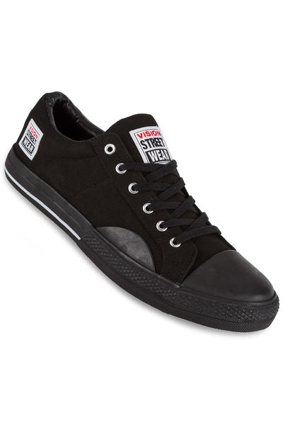 Vision Streetwear Canvas Lo Shoe (black black)