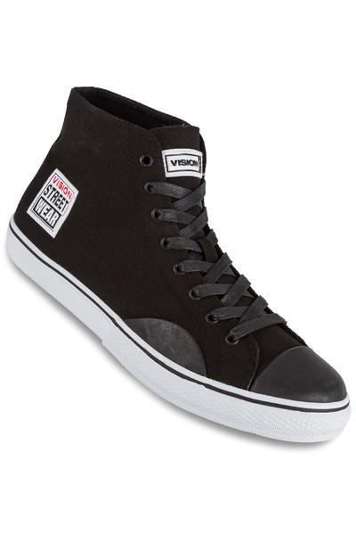 Vision Streetwear Canvas Hi 22 Shoe (black white)
