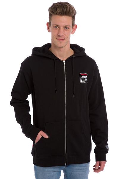 Vision Streetwear Logo Zip-Hoodie (black)