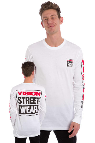 Vision Streetwear Logo Longues Manches (white)