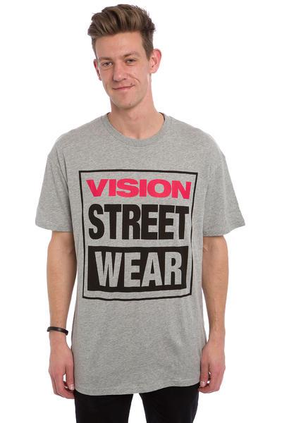 Vision Streetwear Logo T-Shirt (grey marle)
