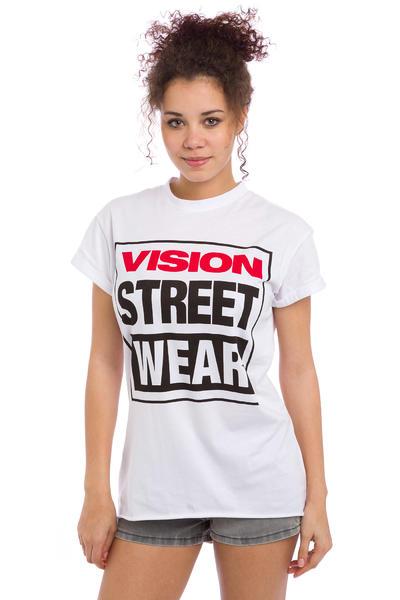 Vision Streetwear Logo T-Shirt women (white)