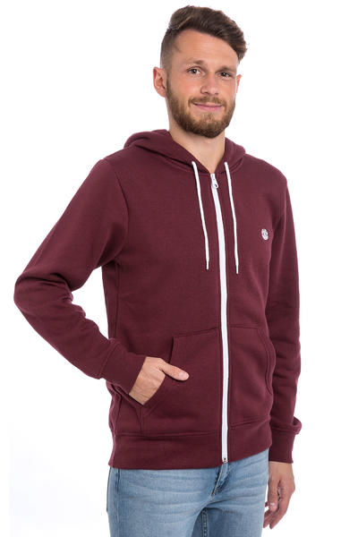 Element Nova Zip-Hoodie (napa red)