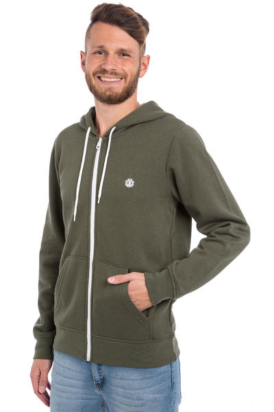 Element Nova Zip-Hoodie (olive green)