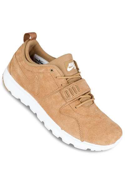 Nike SB Trainerendor Premium Shoe (flax white gum light brown)