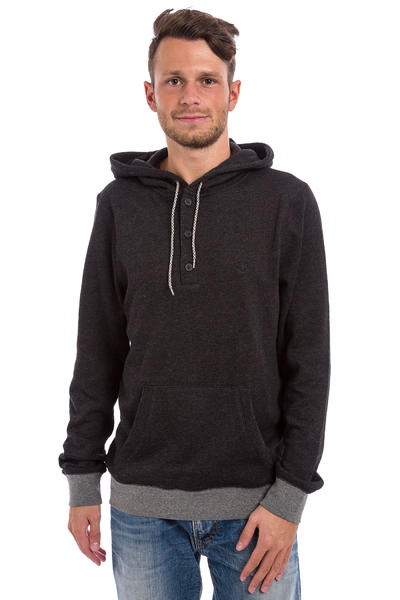 Element Classic Cornell Henley Hoodie (heather charcoal)