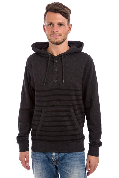 Element Premium Cornell Henley Hoodie (charcaol heather)