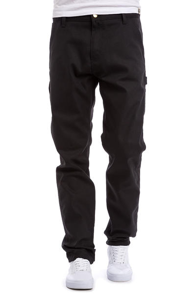 Carhartt WIP Ruck Single Knee Pant Patterson Hose (black rigid)