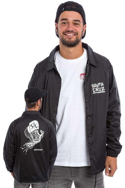 Santa Cruz Dressen Hand Coach Jacket (black)