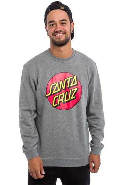 Santa Cruz Classic Dot Sweatshirt (dark heather)